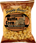 Kettle Cornucopia began from the crazy idea that a married couple could run a business together... fueled by a mutual passion for America's greatest corny snack.