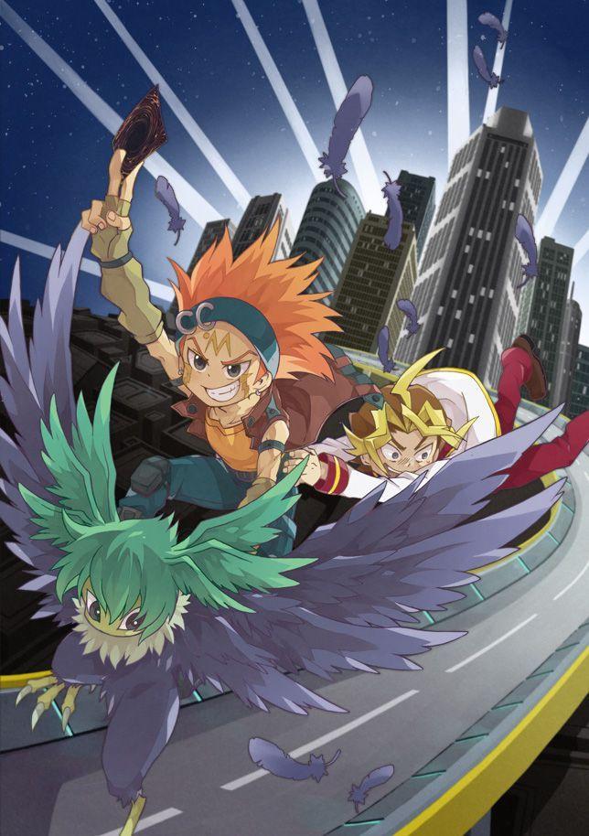 Crow and Sawatari Yugioh, Anime, Anime images