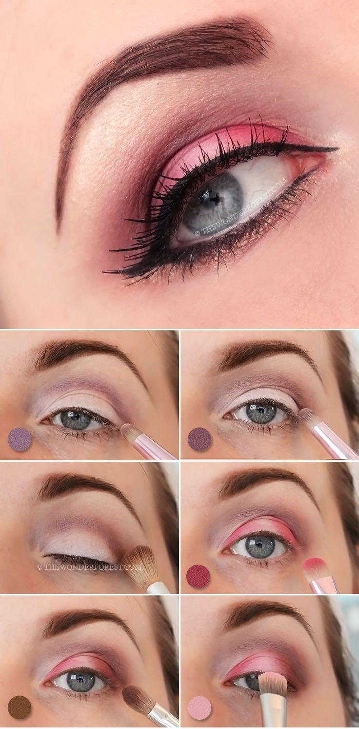 Flirty pink valentines day makeup tutorial makeup eyeshadow flirty pink valentines day makeup tutorial baditri Gallery