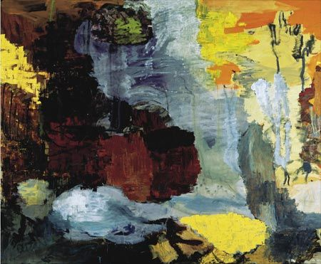 Beatus-Apokalypse, 1989. Olie på lærred, 290 x 350 cm, Louisiana Museum for Moderne Kunst, Humlebæk