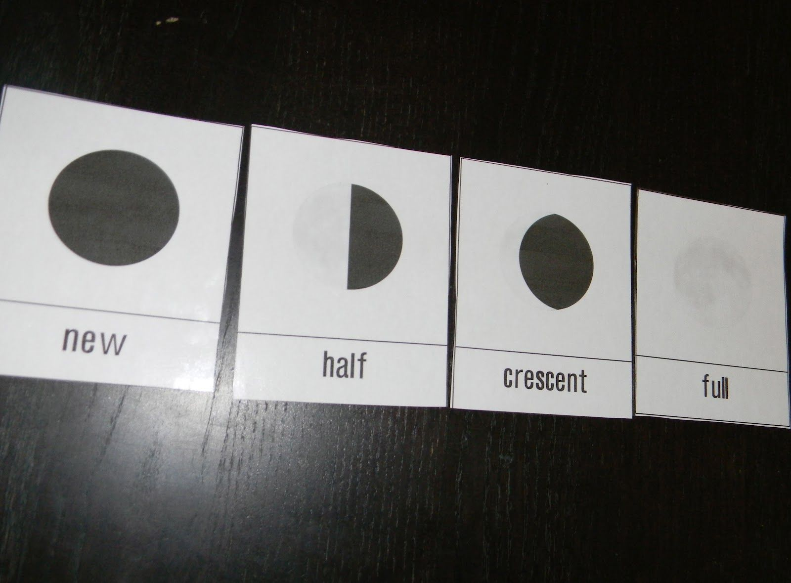 Moon Phases Activities For Preschoolers