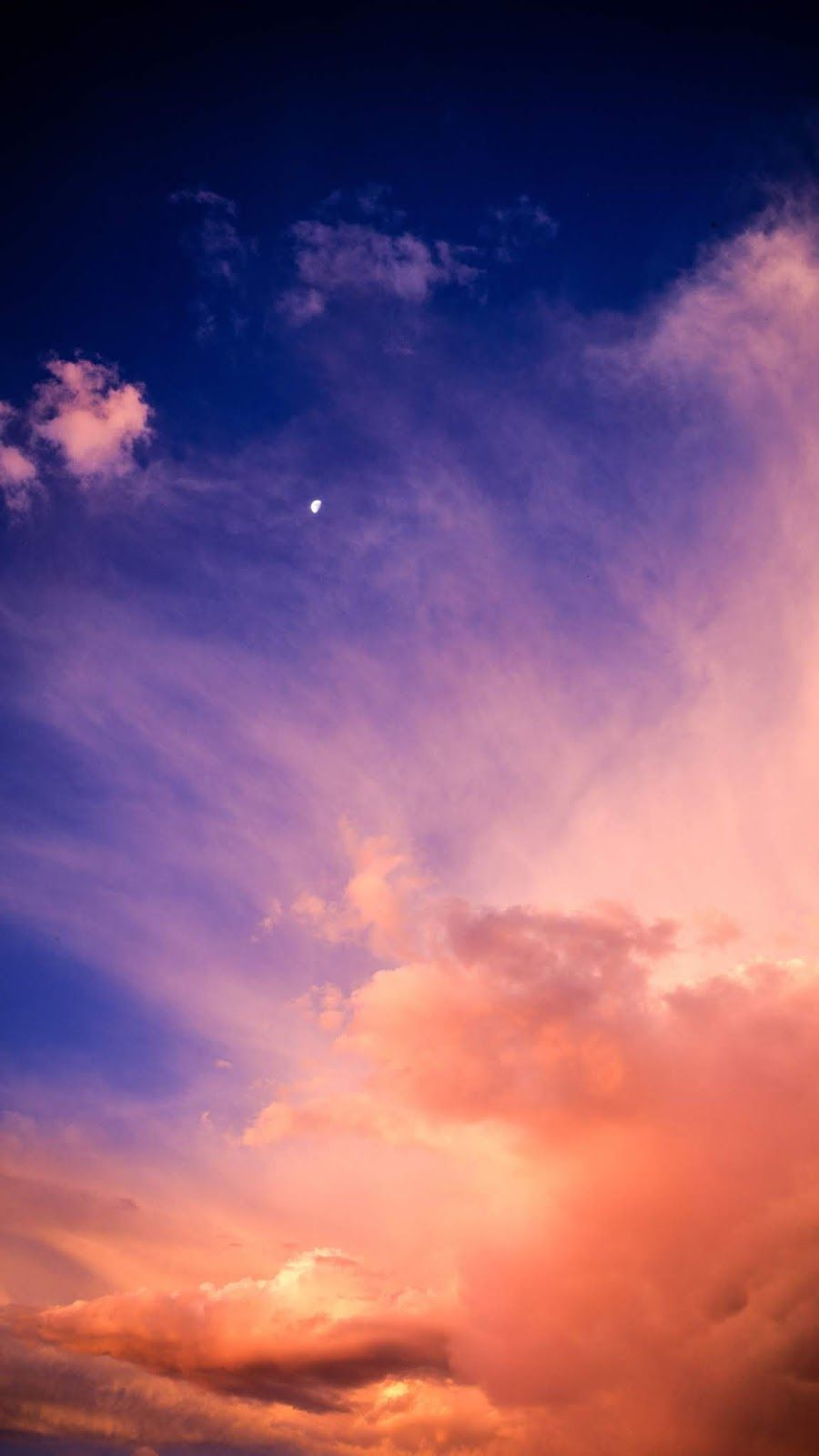 Twilight Sky Wallpaper Iphone Android Background Followme Twilight Sky Night Sky Wallpaper Sky Aesthetic
