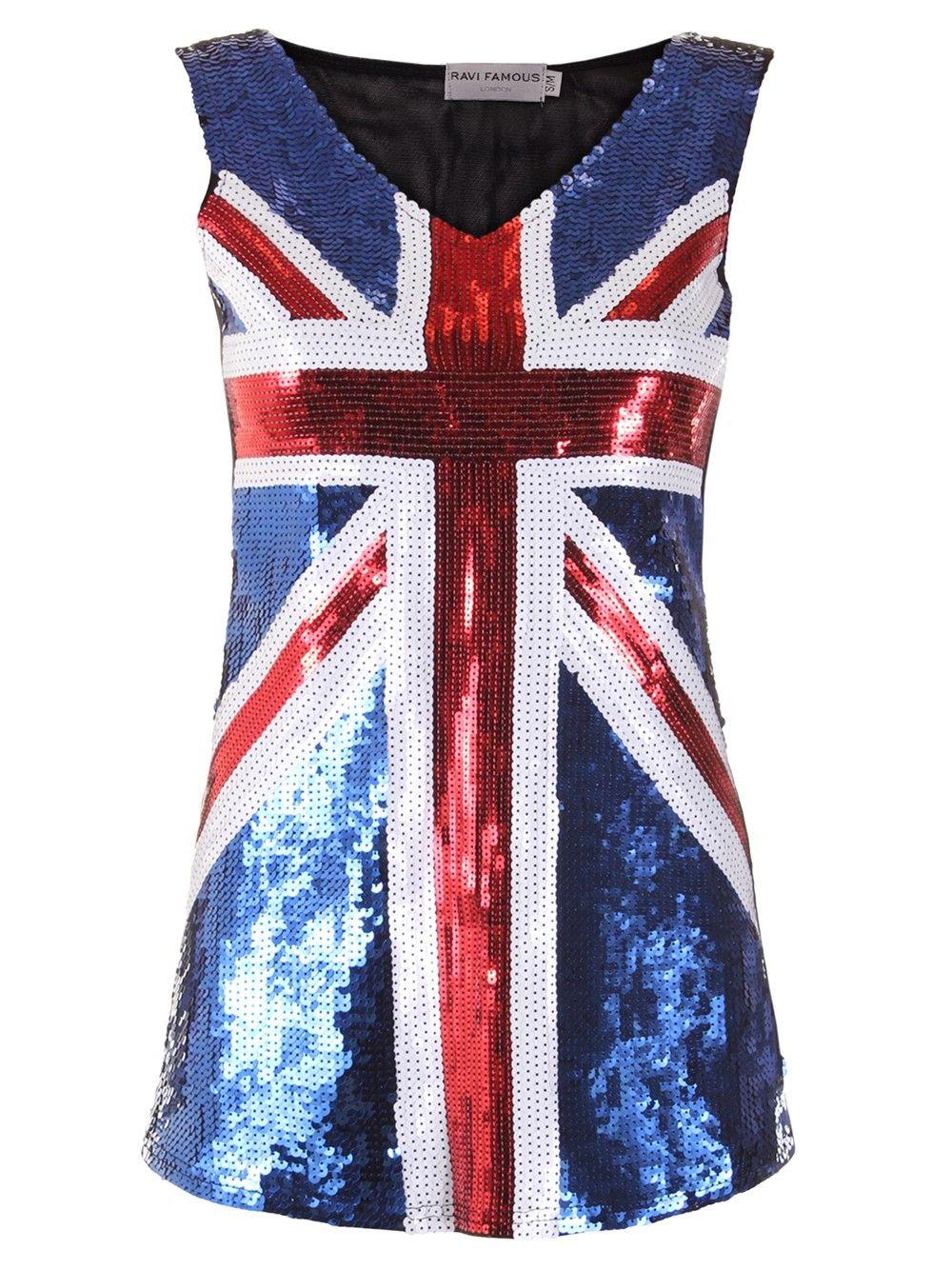 Sequin union jack dress statement style pinterest union jack