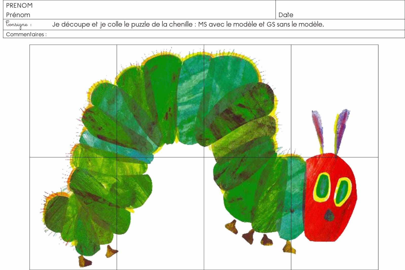 Preschool Teacher S Blog In French With Many Printable