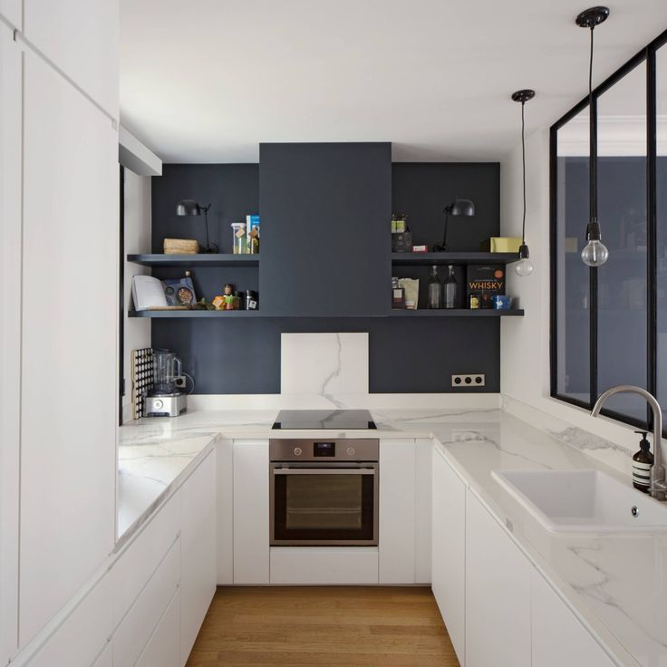 10 Unique Small Kitchen Design Ideas: 50 Unique U-Shaped Kitchens And Tips You Can Use From Them