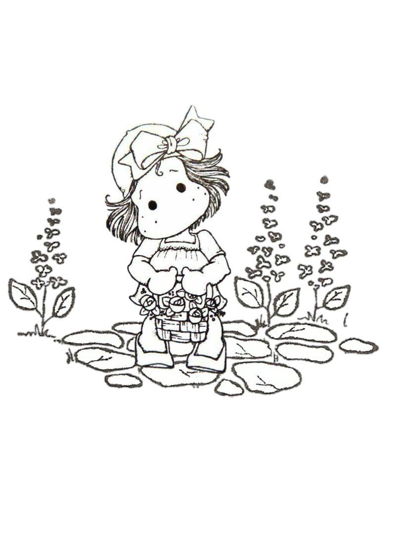 Pin De Diana Angela Em Magnolia Colorir Magnolia Pintura Infantil