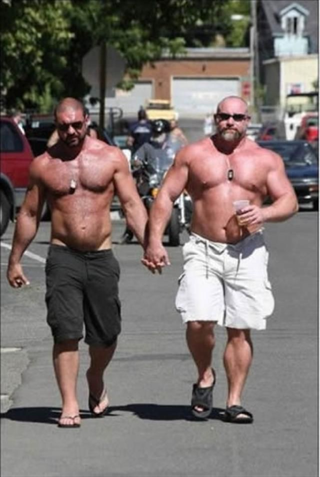 Bald gay men