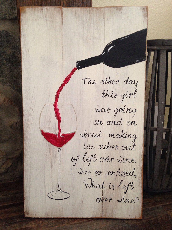 Wine Pallet Sign by TeedumTeedee on Etsy https://www.etsy.com/listing/226052380/wine-pallet-sign
