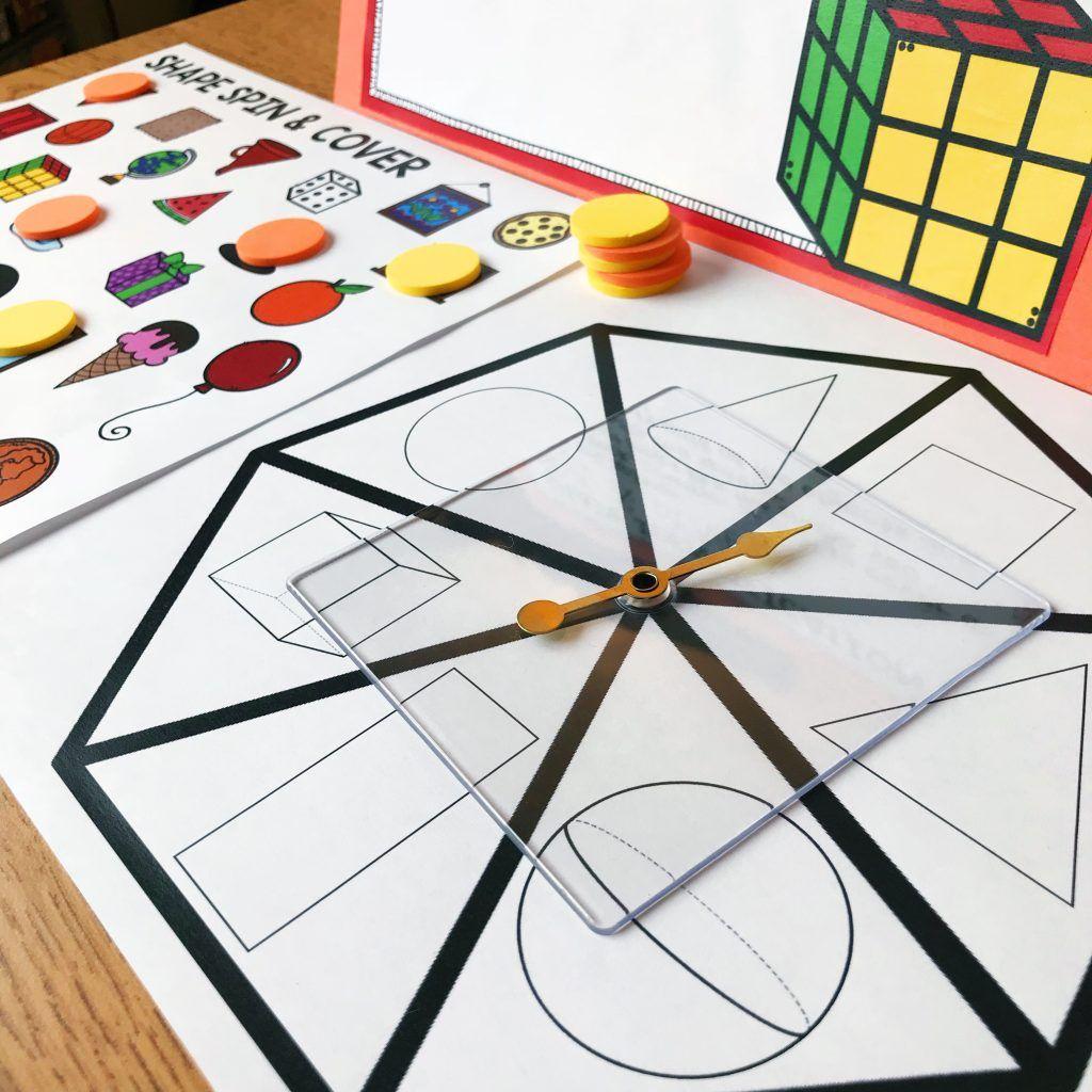 November Math Centers