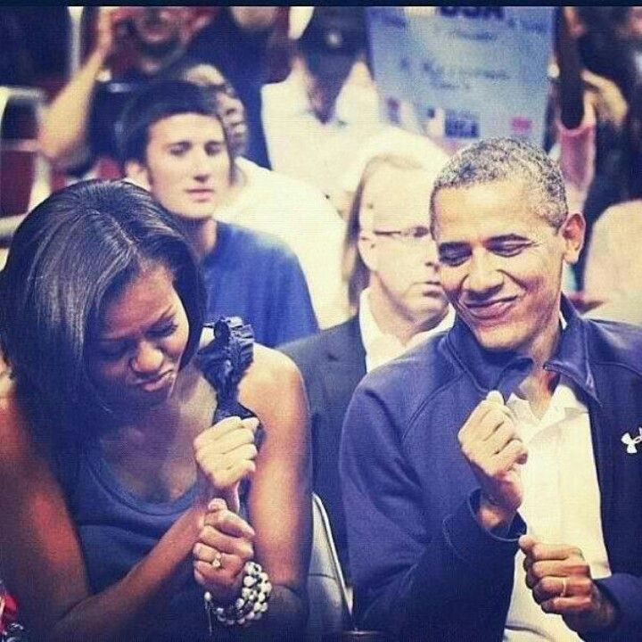 My prez and his lady