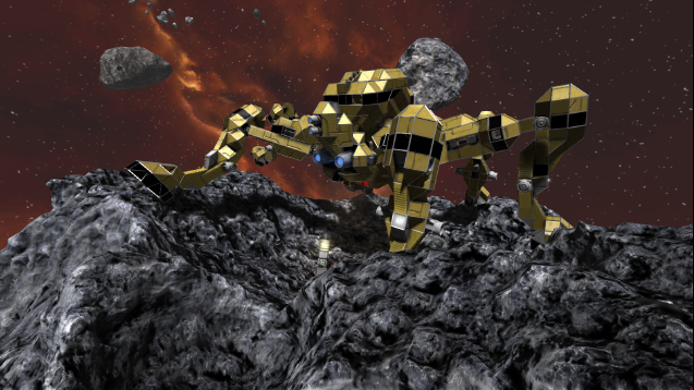 Pixeledme Taragat Mk Ii Mining Ship Space Engineers Space Engineers Engineering Concept Cars