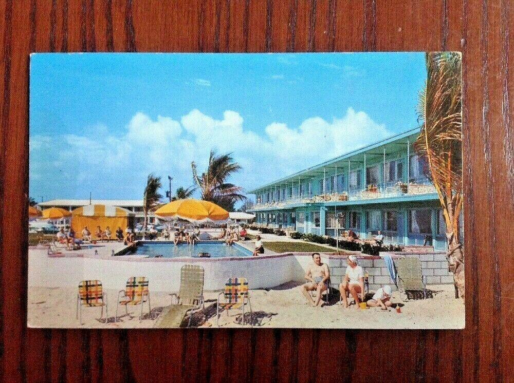 La Riviera Apartment Hotel Motel Palm Beach Shores Florida Postcard Ocean Ave Palm Beach Shores Riviera Beach Palace Hotel San Francisco