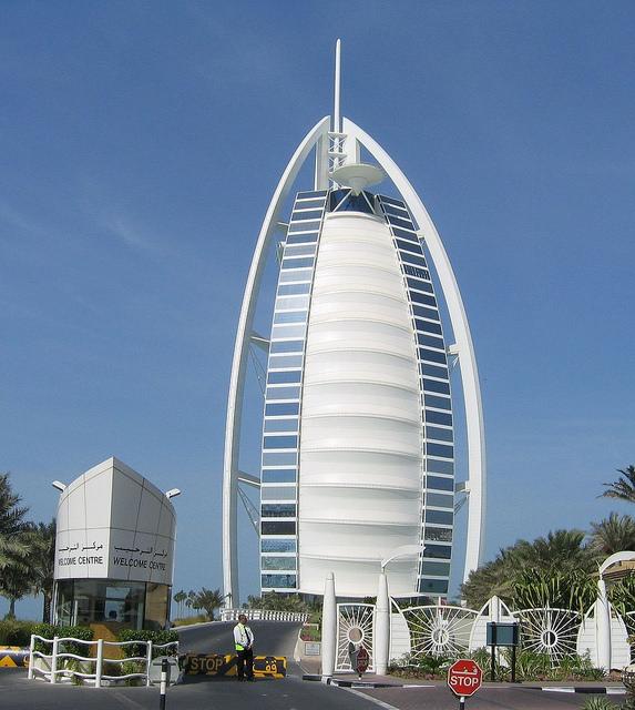 Burj Al Arab - Dubai - Main Facade