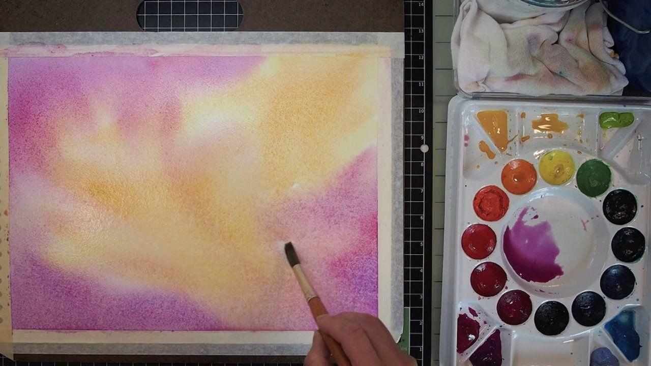 Free Videos Watercolor Background Watercolor Lessons