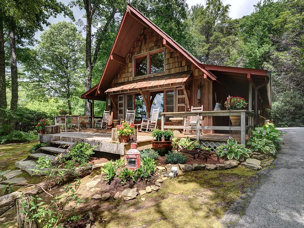 Cabin vacation rental in highlands nc usa from