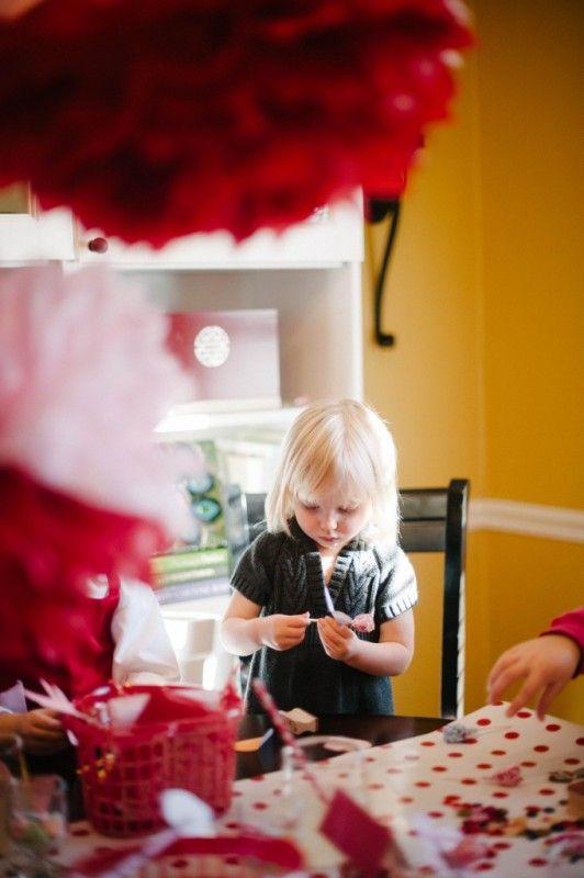 Card Making Party Ideas Part - 31: DIY | Valentine Crafts | Kids Party | Valentine Card-Making Party | Natalie  Bradley
