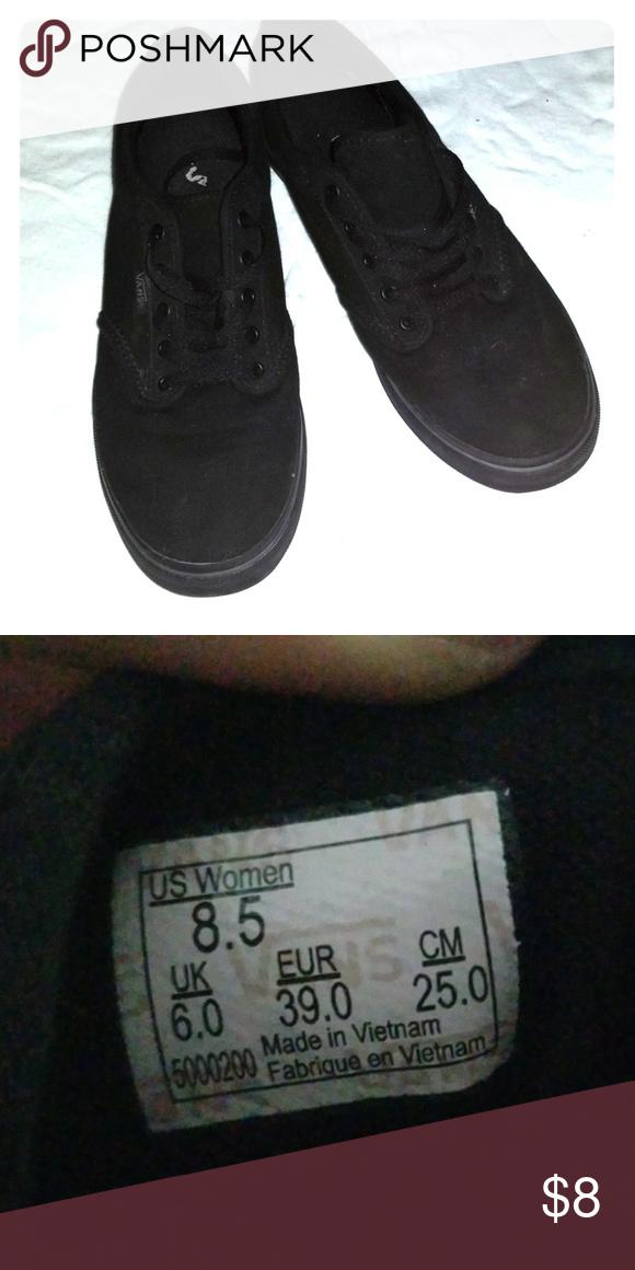 vans size 8.5