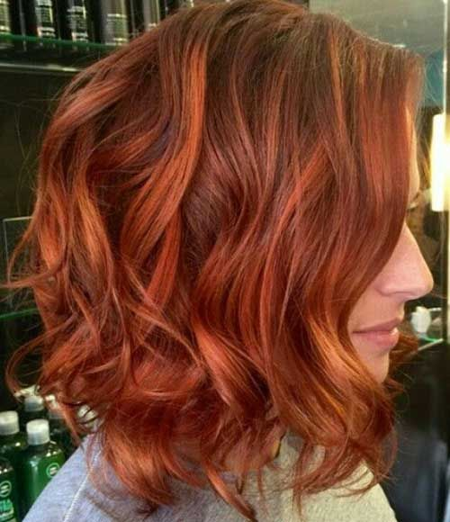 15 Red Bob Haircuts Hair 10 15 Shades Of Red Hair Copper Hair