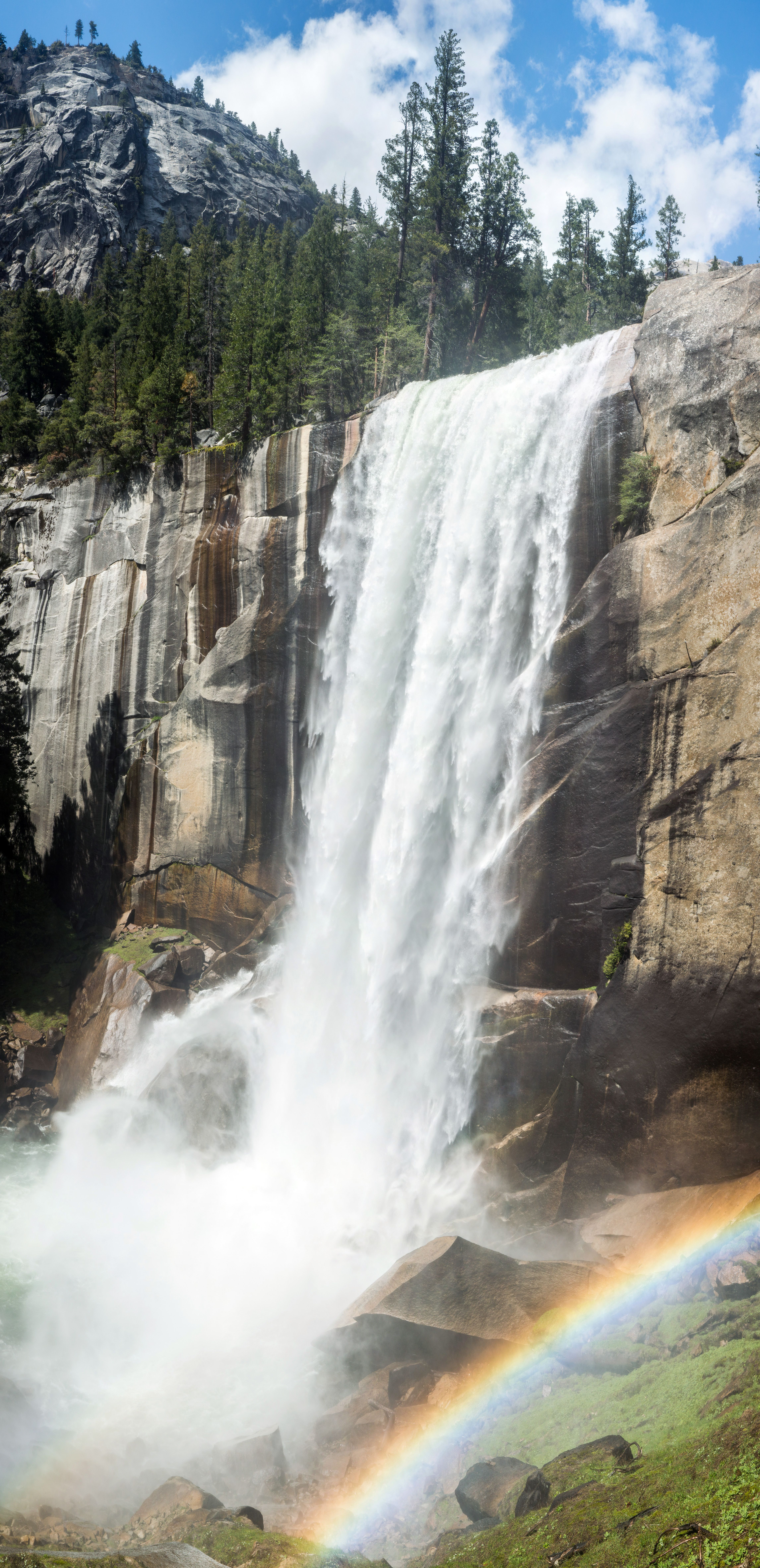 Vote for Your Favorite Yosemite Picture   Focal Point   Yosemite Vernal Falls Rainbow