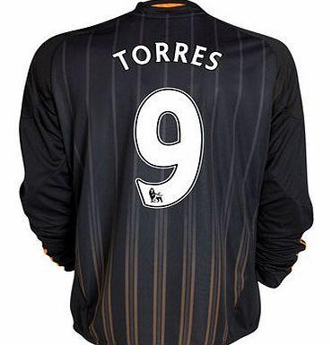 50db6108823 Chelsea Away Shirt Adidas 2010-11 Chelsea Long Sleeve Away Shirt (Torres 9)