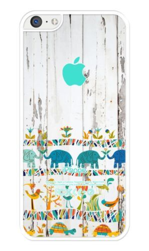 on sale 9a702 28734 Africa on Wood Pattern Rubber iPhone 5C case. Protective Cover Case ...