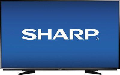 """Sharp - 50"""" Class (49.7"""" Diag.) - LED - 1080p - HDTV - Black"""