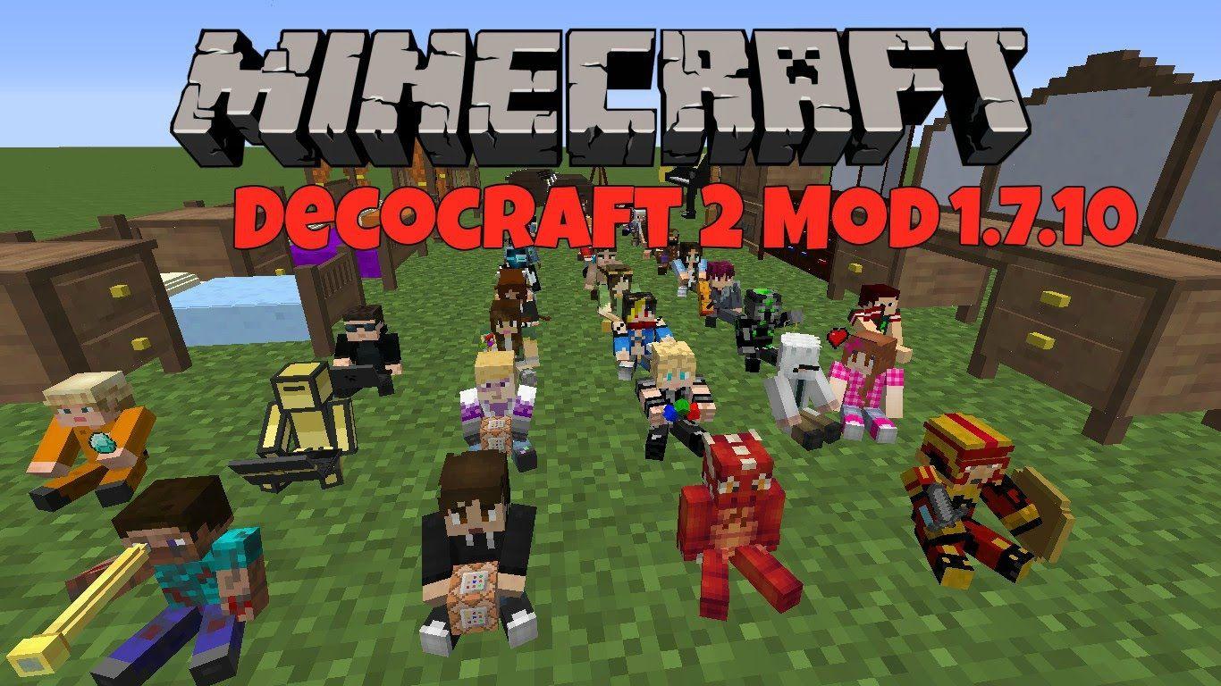 minecraft decocraft 2 mod 1.7.10 download