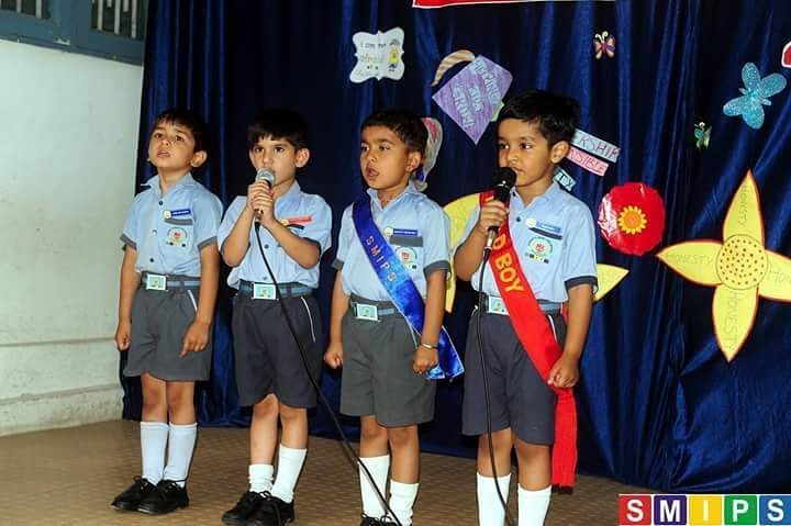 Tiny tots singing national anthem #smipsjammu #stmarysinfantpreschool #Preschool #playschool #kindergarten #jammu