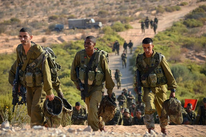 The Desert Reconnaissance Battalion Deserts and Israel