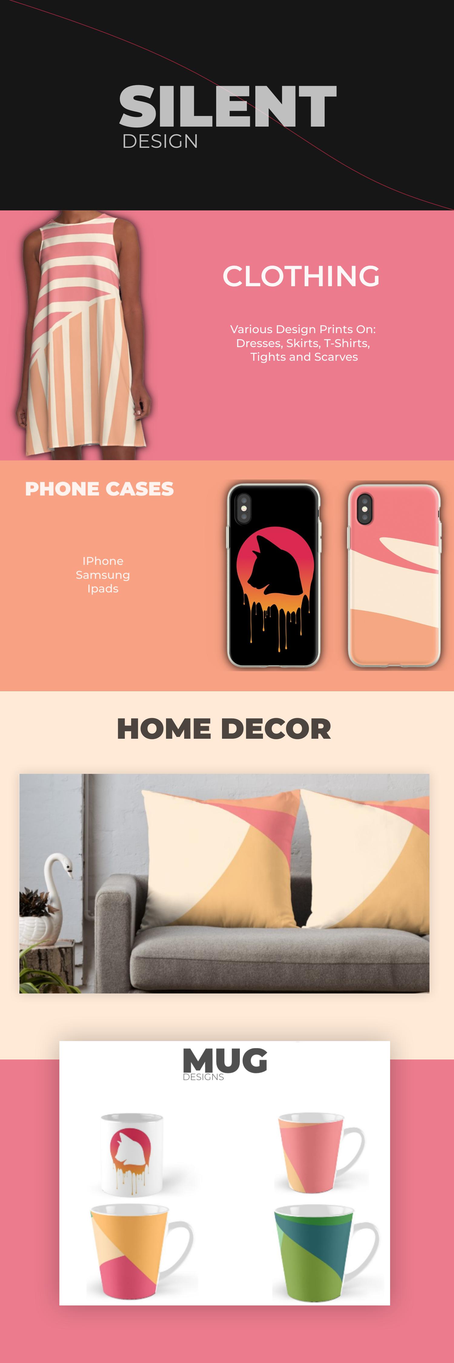 Silentvalley Shop Redbubble Web Design Simple Brochures Design