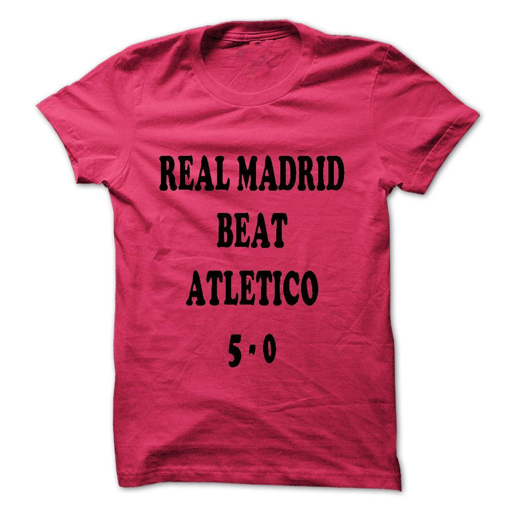 T shirt design on queen city - Real Madrid Beat Atletico Madrid T Shirt Hoodie Sweatshirt