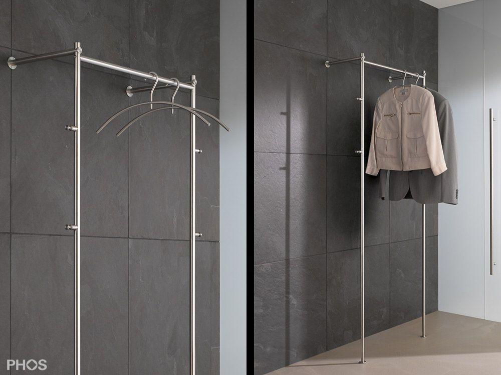 Kleiderstander Und Garderobenstander Aus Edelstahl Design