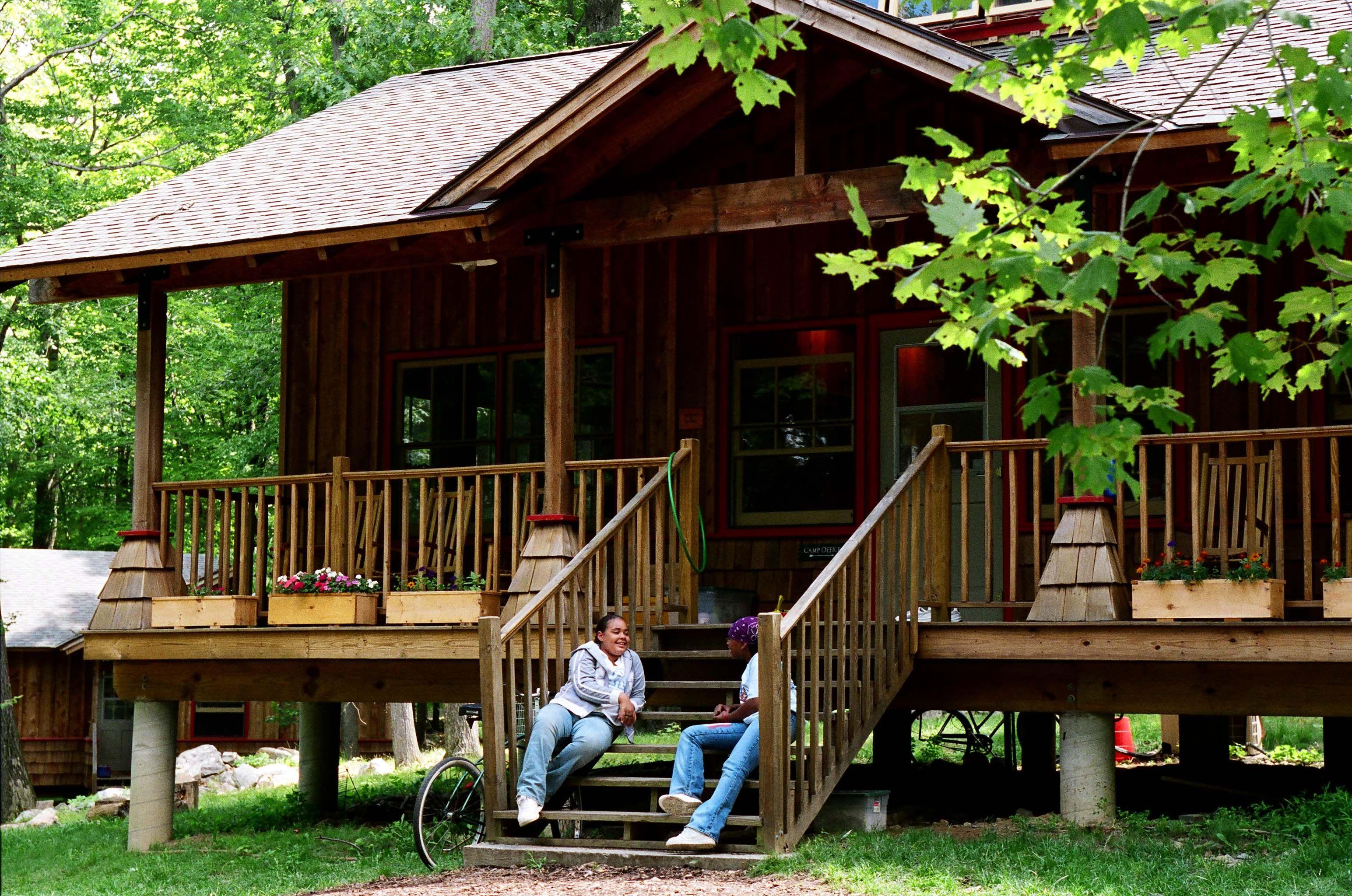 The Fresh Air Fund's Camp ABC. camp summer House