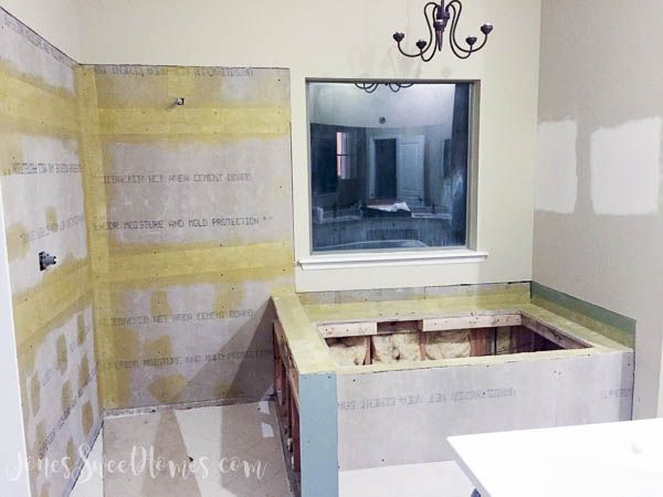 DIY Bathroom Renovation - Jones Sweet Homes blog
