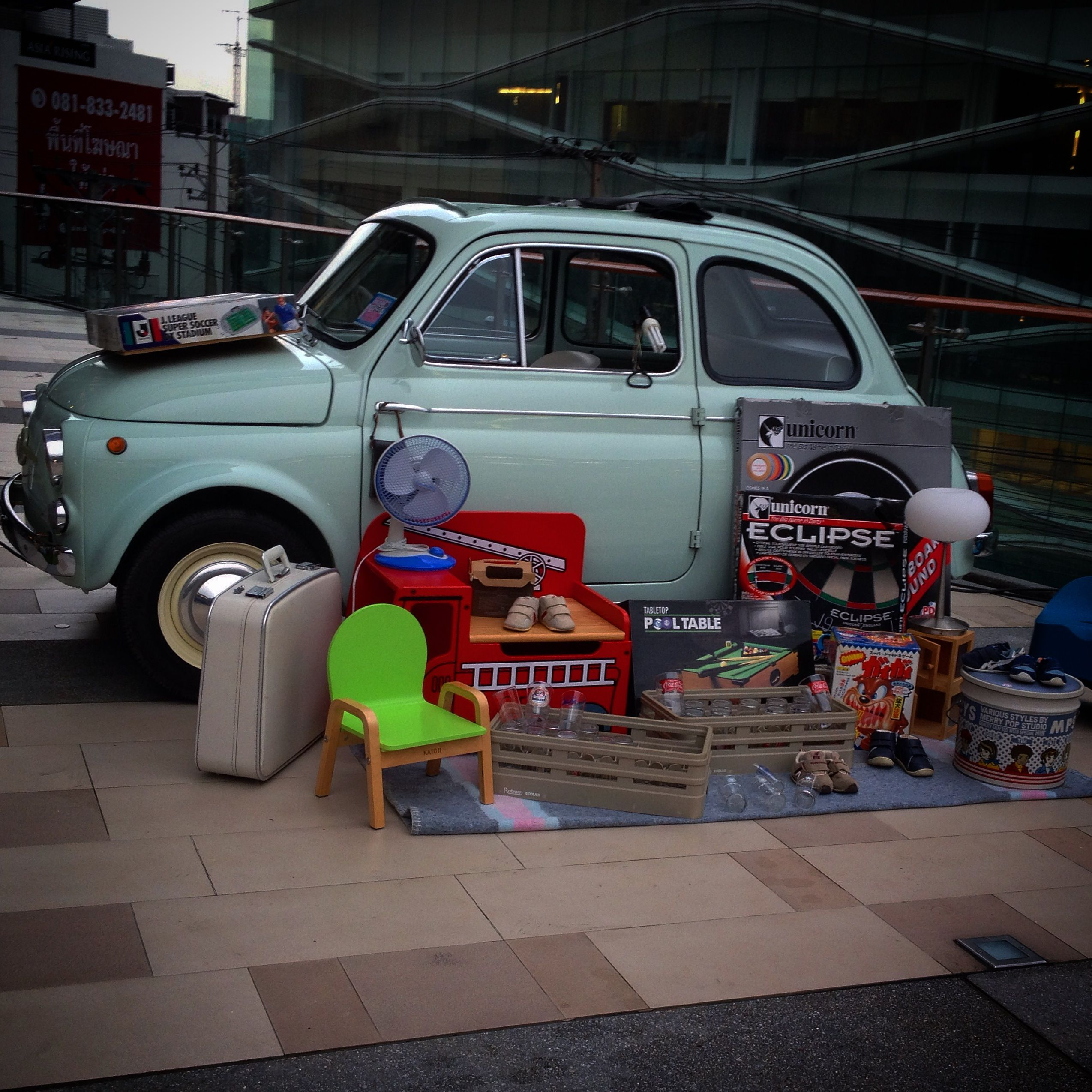 Fiat 500 garage sale car pinterest for Garage fiat 500