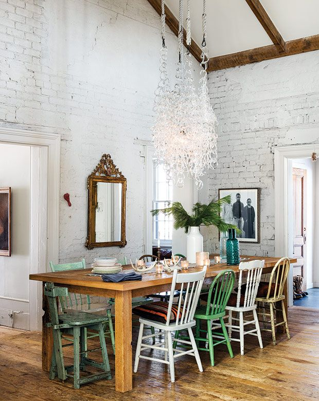 Photo of You'll Want To Spend Christmas In This Rustic Country House