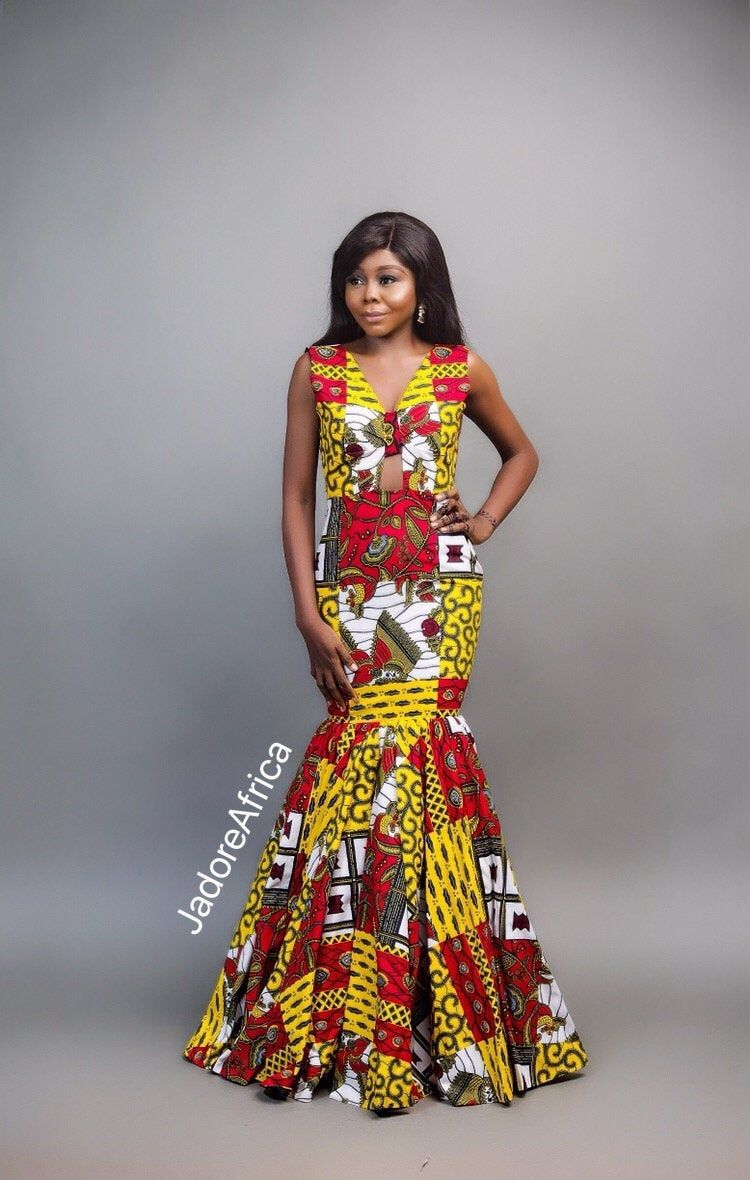 African Dress For Prom African Wedding Reception Dress Ankara Prom Dress Wedding Guest Dress African Hom African Dress Ankara Prom Dress African Fashion Women,Wedding Dressing Style For Girls