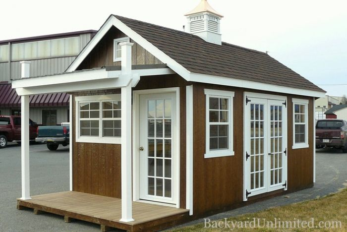 tiny backyard home office. Home Offices / Studios Album | Image #1 Backyard Unlimited Tiny Office