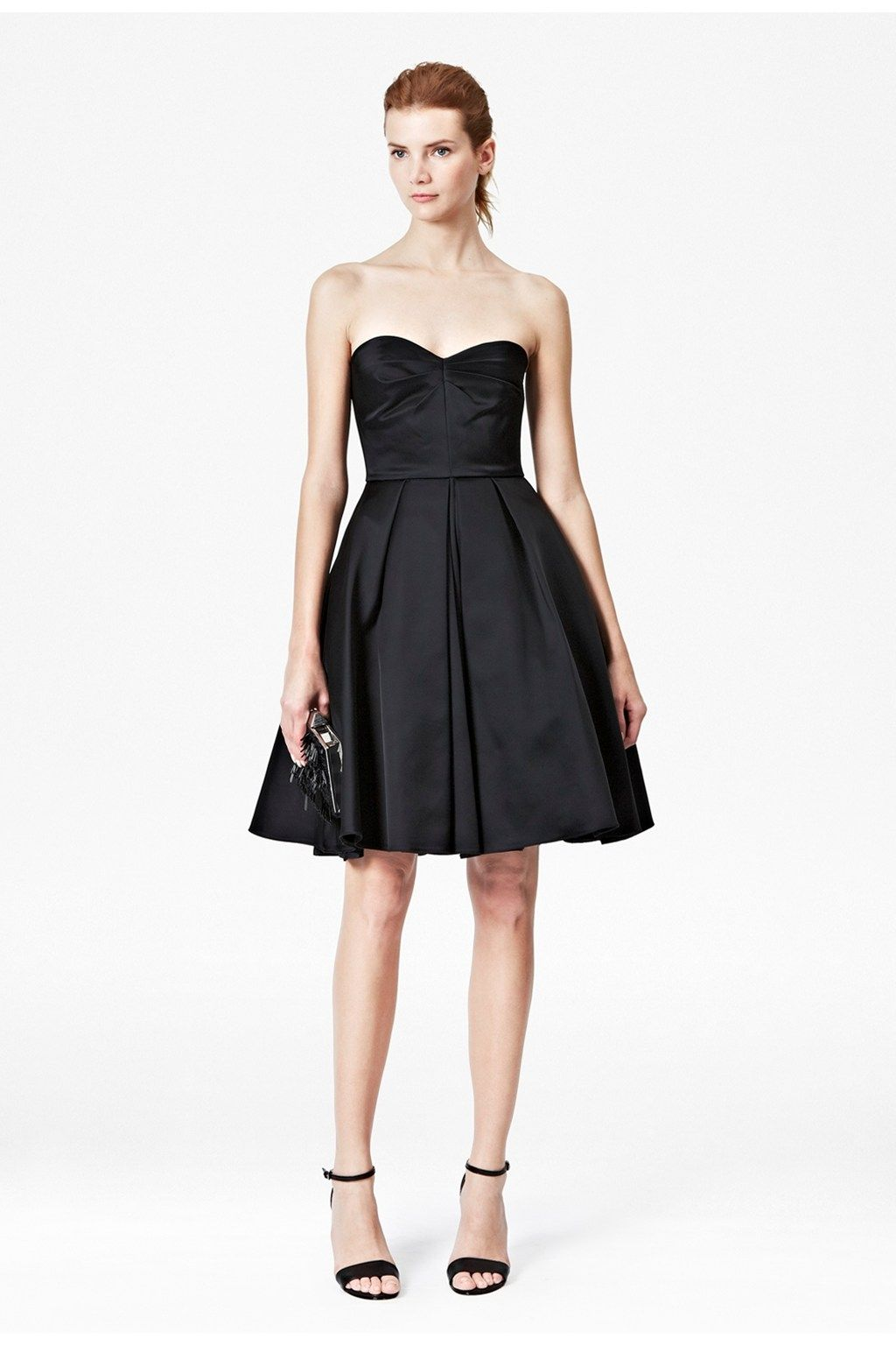 Duchess Divine Strapless Dress - Dresses - French Connection