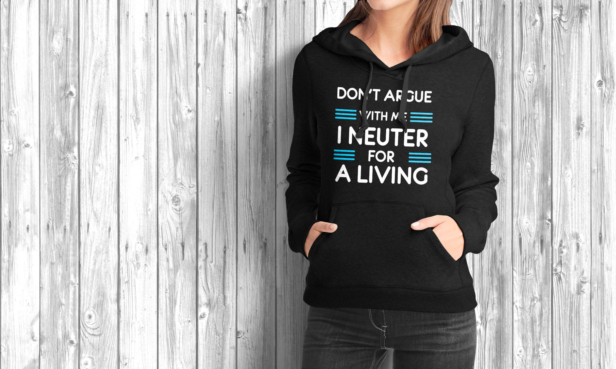Dont argue with me i neuter for a living unisex tshirt