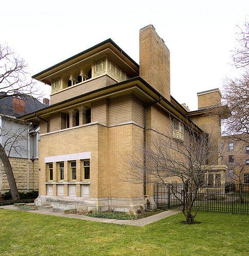 Frank Lloyd Wright S Heller House In Chicago Frank Lloyd Wright