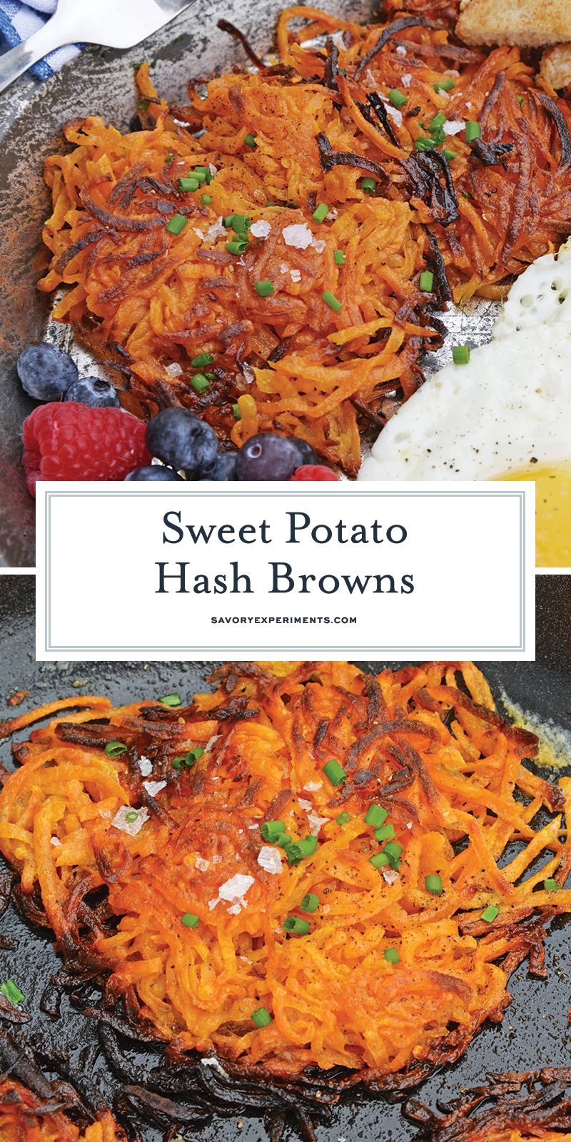 Sweet Potato Hash Browns are a simple breakfast recipe