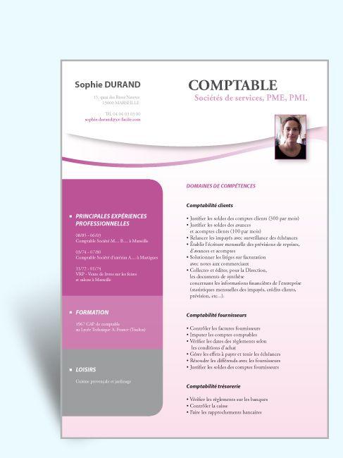 cv gratuit comptable fournisseur