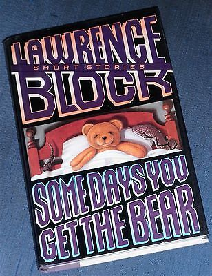SOME DAYS YOU GET THE BEAR Lawrence Block 1st Ed 1993 First Edition