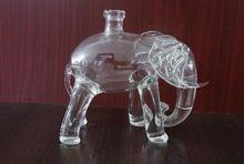 High Clear Elephant Animal Shaped Wine Glass Bottles Dragon