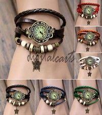 Jag tror du skulle gilla Women's Quartz Small Butterfly Weave Wrap Synthetic Leather Bracelet Wrist Watch 19256. Lägg till den i din önskelista!  http://www.wish.com/c/53fb391b104dae304d622532