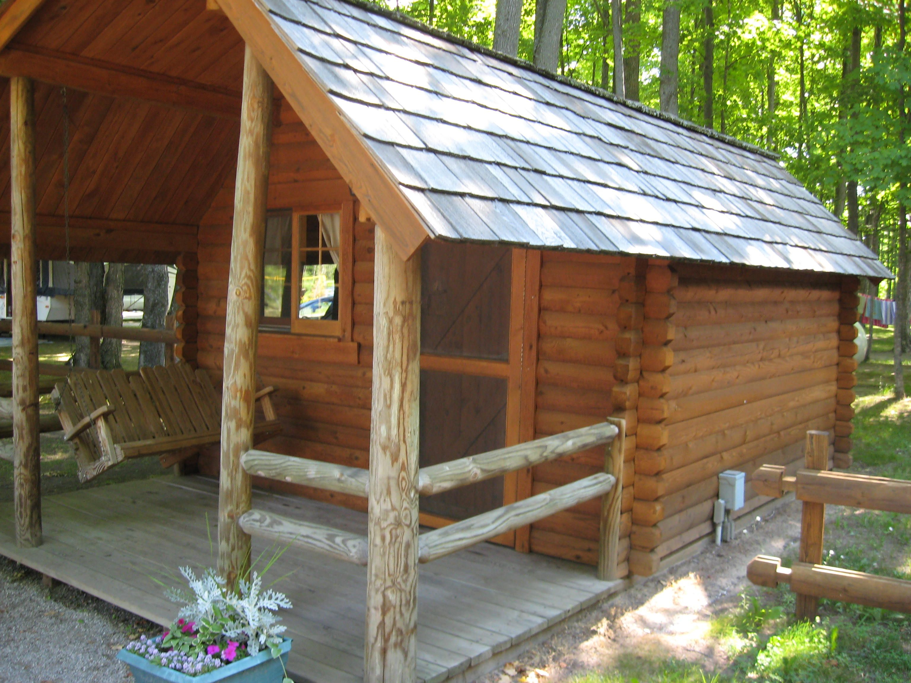 Camping cabins, traverse city and cabin on pinterest