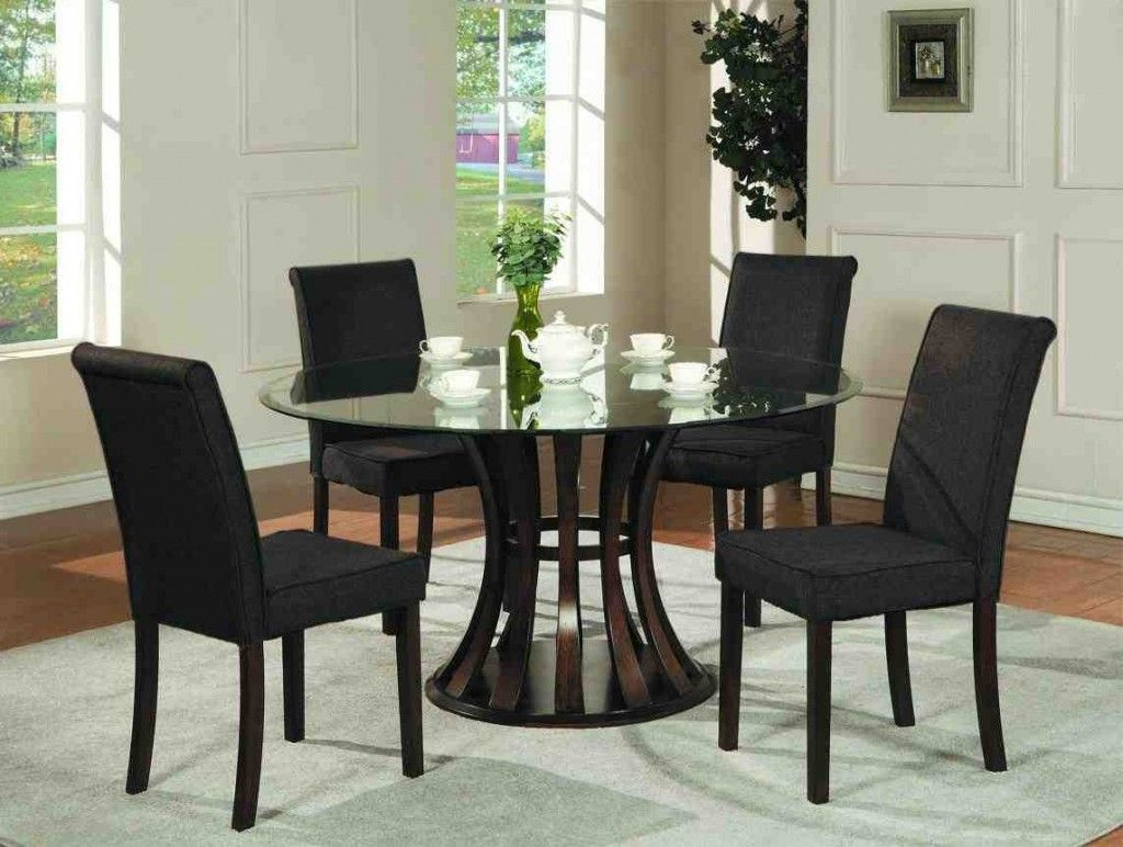 Black Chairs For Dining Table With Images Glass Top Dining