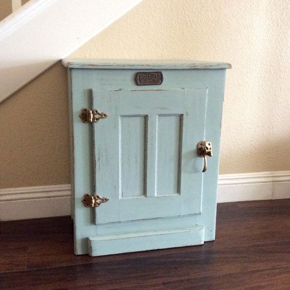 RUSTIC SIDE TABLE Beach Cottage End Table Nautical by shabbyshores