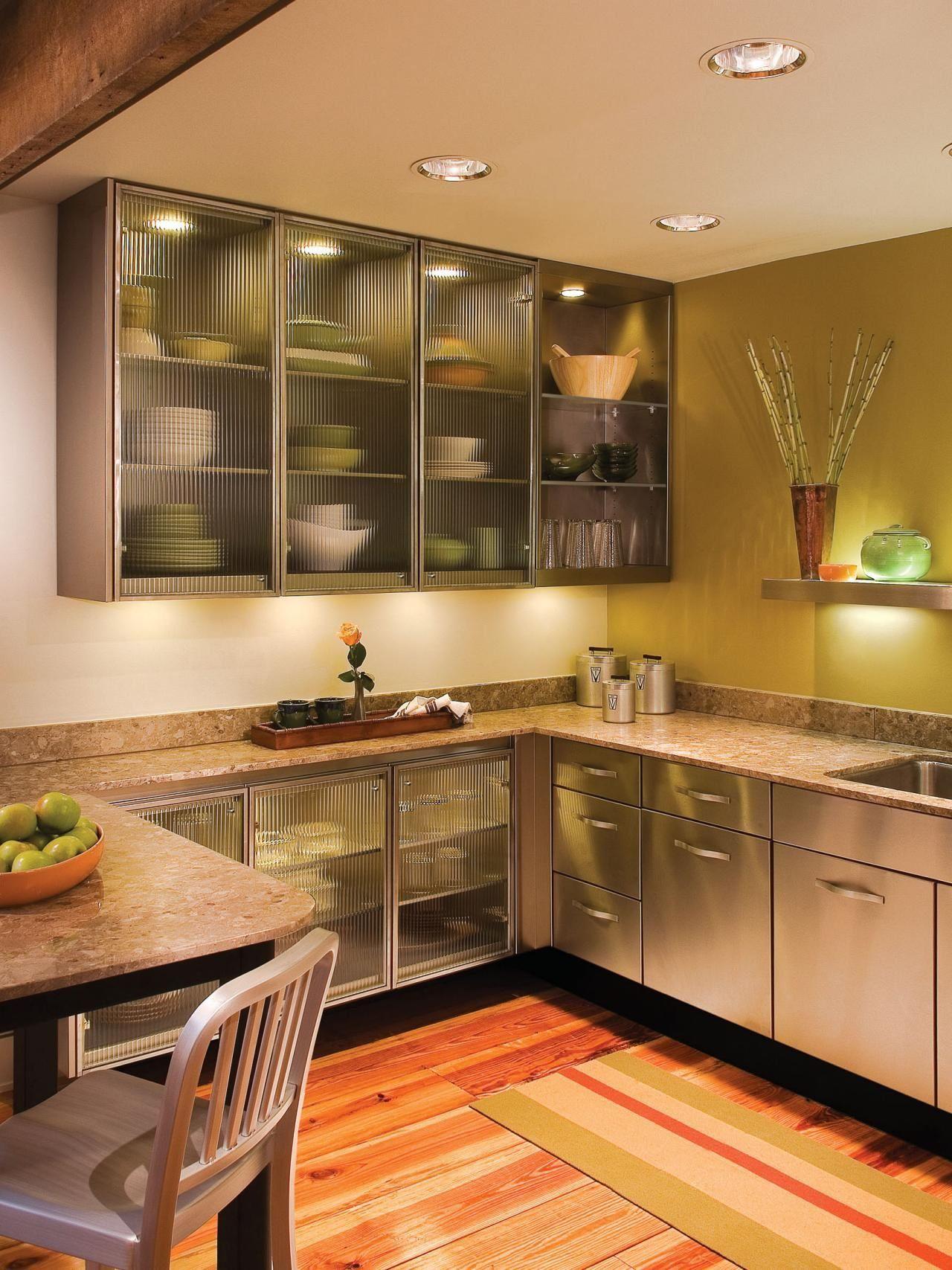 Glass Kitchen Cabinet Doors Upper Kitchen Cabinets Glass
